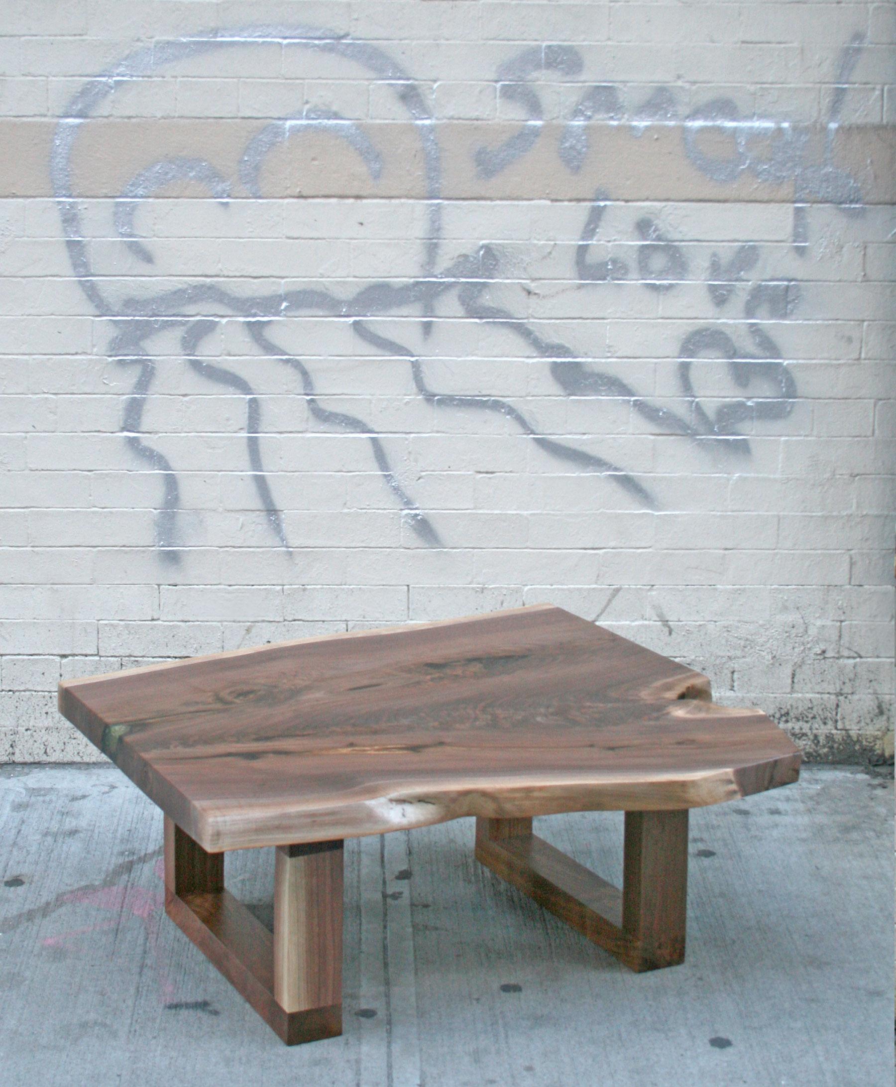 SENTIENT Live Edge Coffee Table