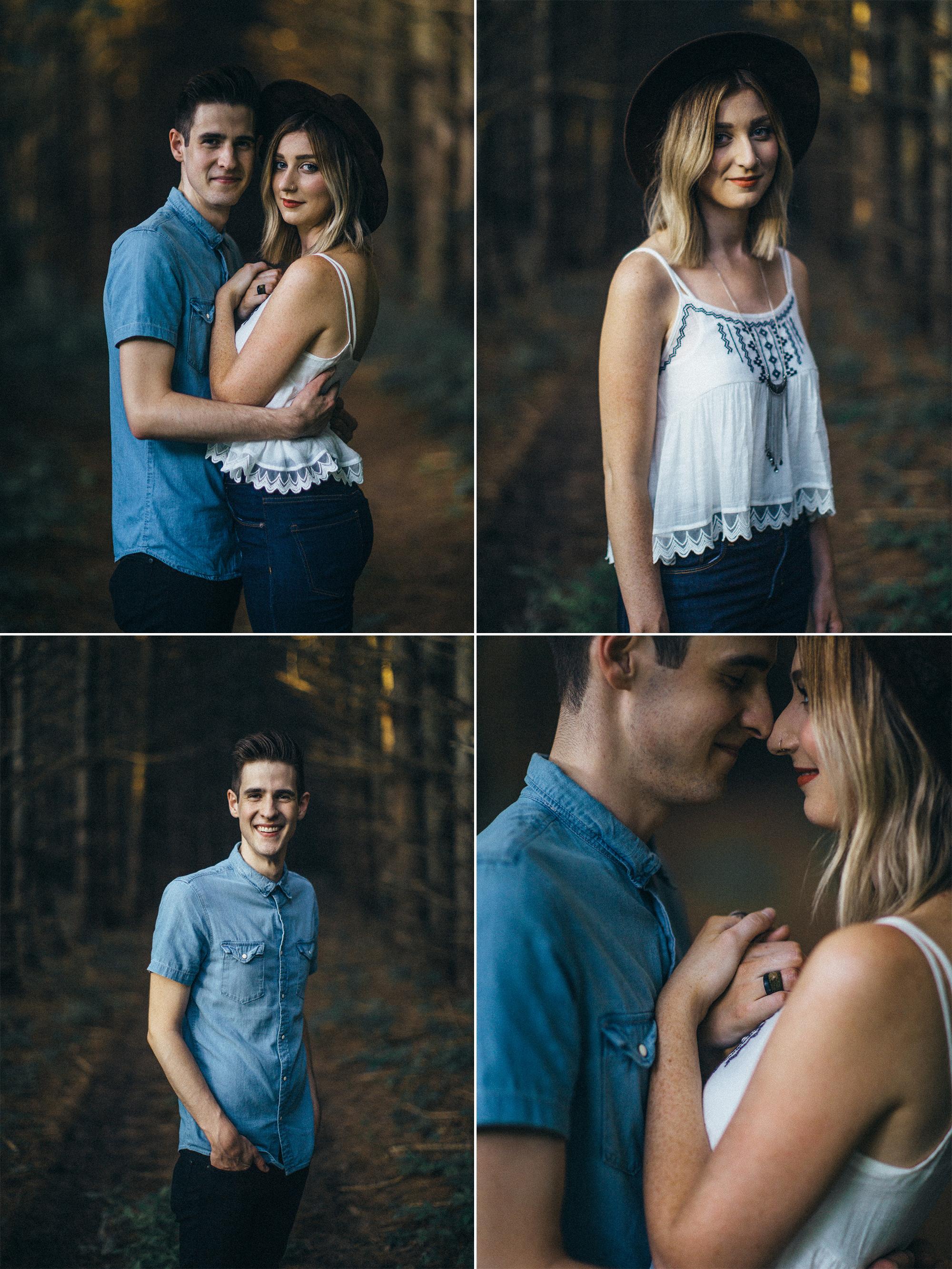Addison & Rebekah Sauvan - Anniversary Portraits by Rusty Wright