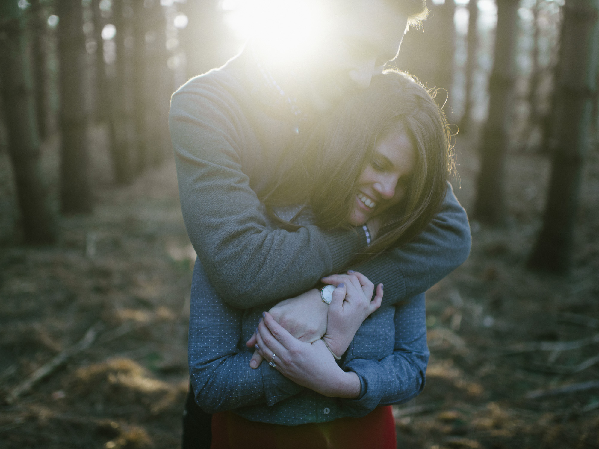 Dave Sabin & Shelby Anderson's Engagement Portraits