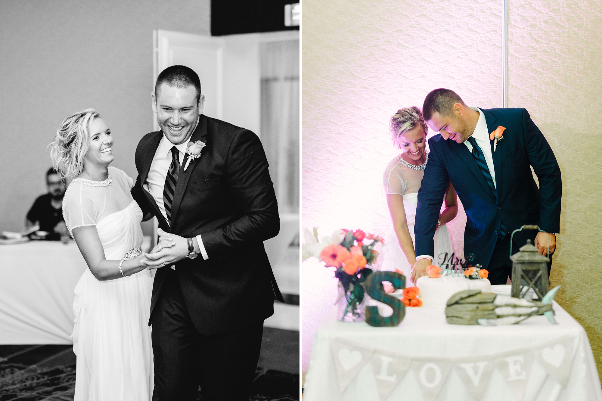 Wedding photographs by Rusty Wright, taken at the Moon Palace Resort in Riviera Maya, Mexico.