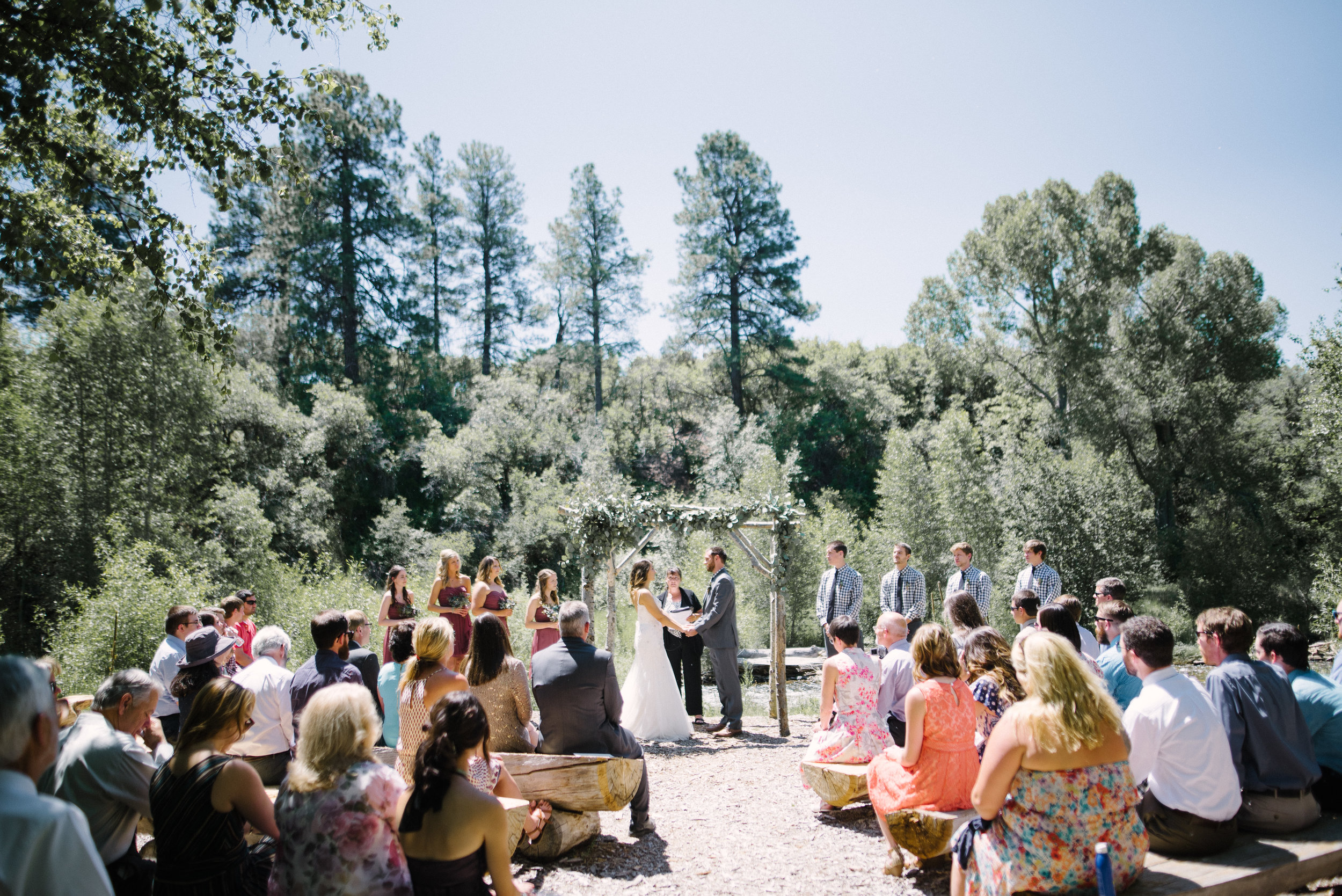 Hunter Knox Erin Stolte Rusty Wright Durango Colorado Wedding Photographer