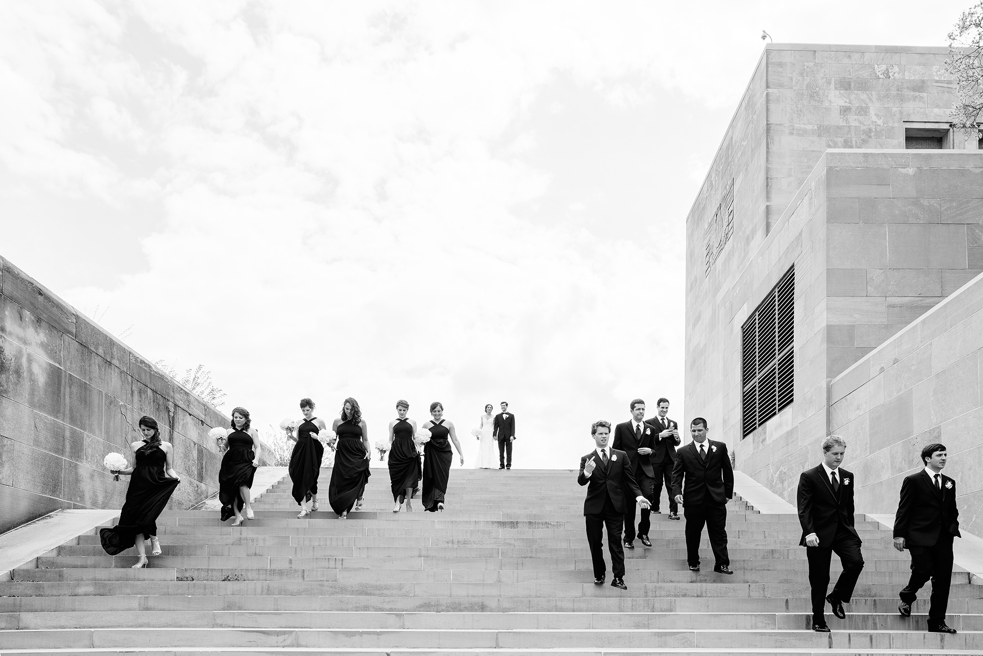 Liberty Memorial Kansas City Wedding Photographer