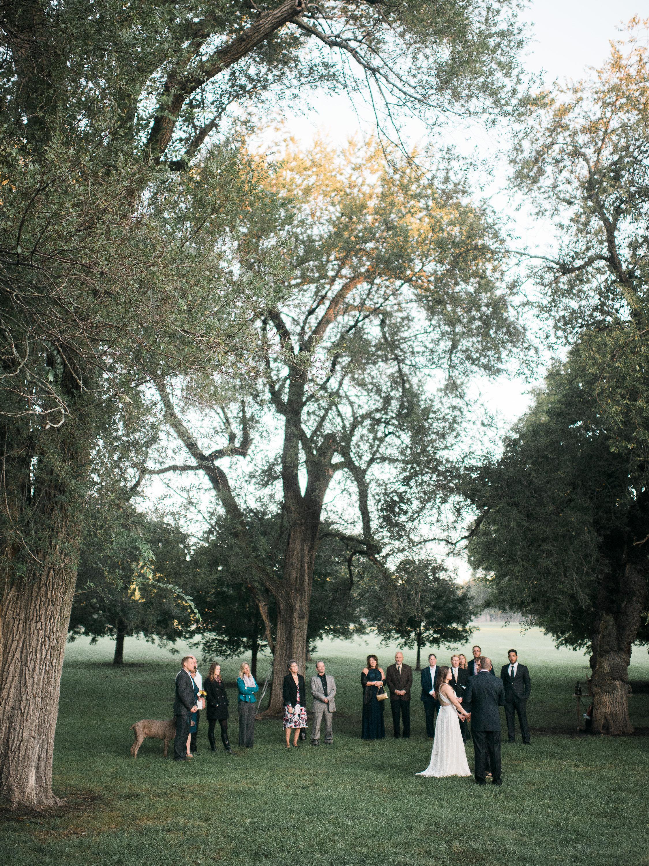 Loose Park Wedding Ceremony Elopement Photographer