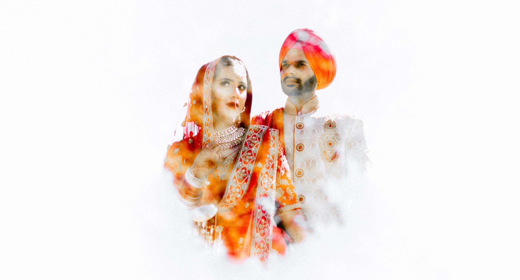 Inder Gill and Navi Kaur's Sikh Wedding Photographs