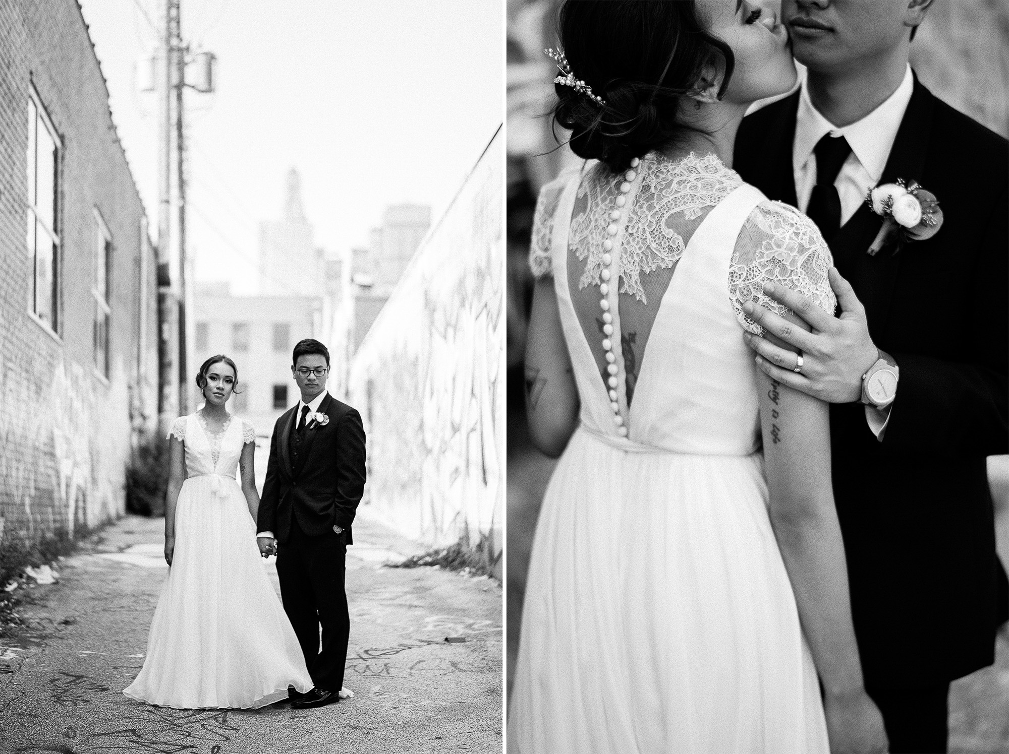 An & Myleen's Kansas City Wedding Photographs, by Photographer Rusty Wright.