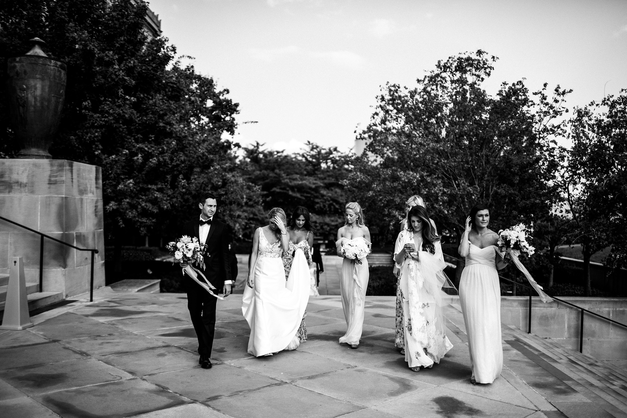 Johnny DeStefano Sarah Cascio Rusty Wright Wedding Photographs Nelson-Atkins Museum