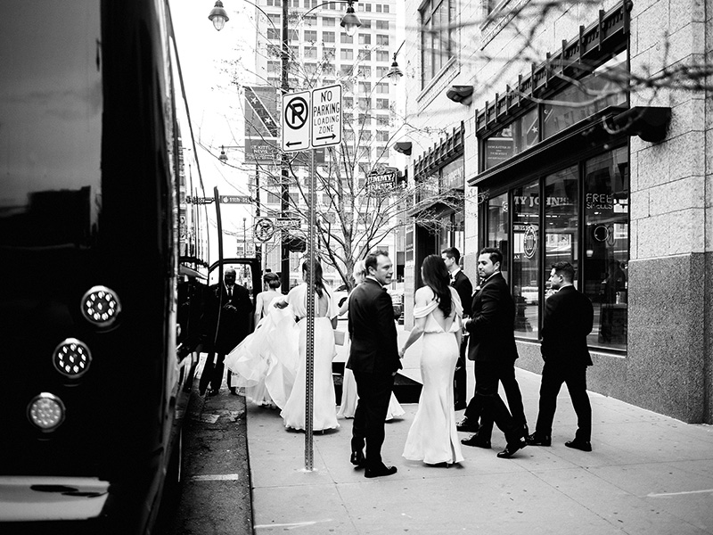 Creative non-traditional minimal wedding photographer Kansas City