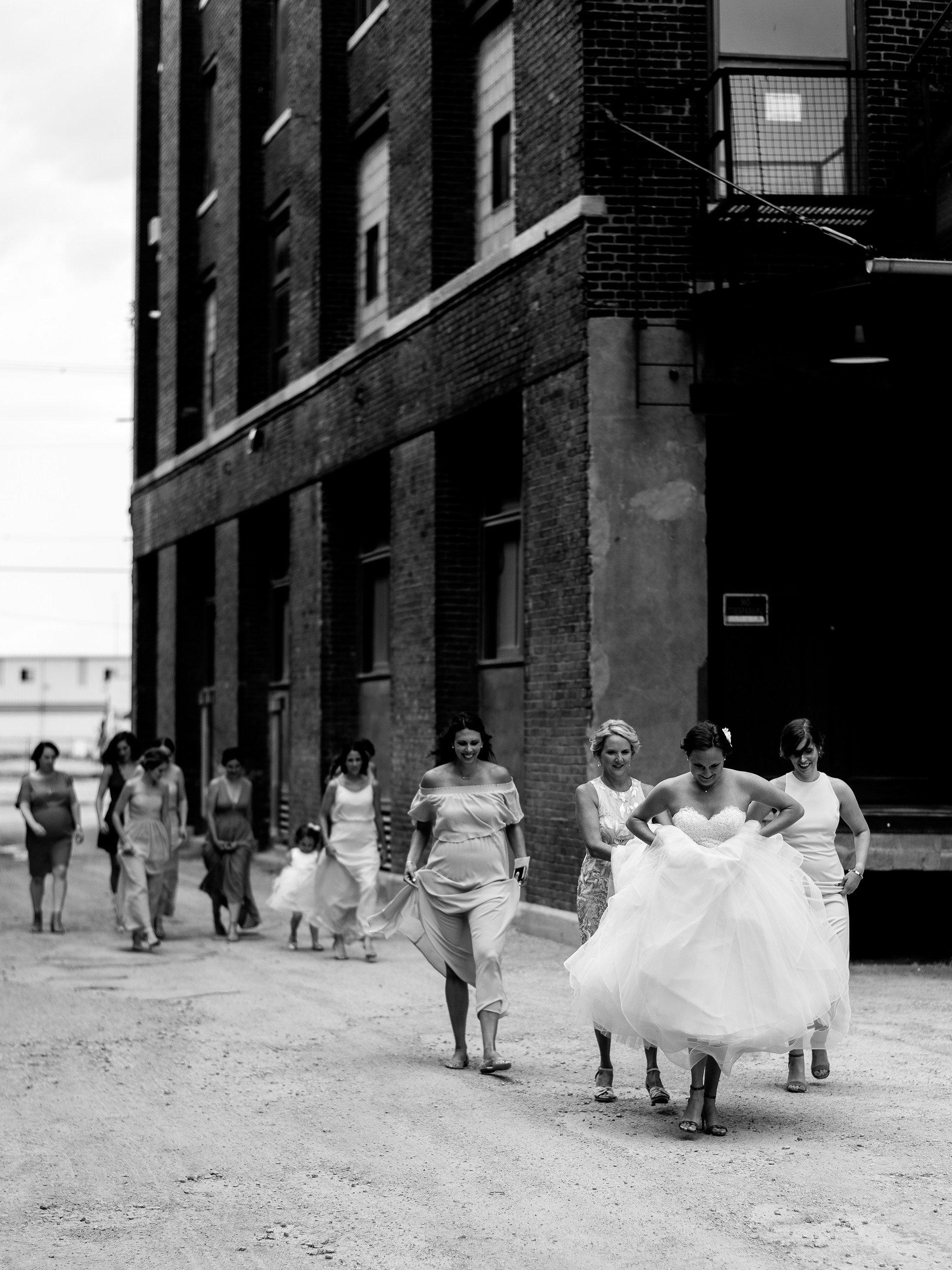 Kansas City Creative Documentary Photojournalist The Hobbs Building Feasts of Fancy Wedding Photographer
