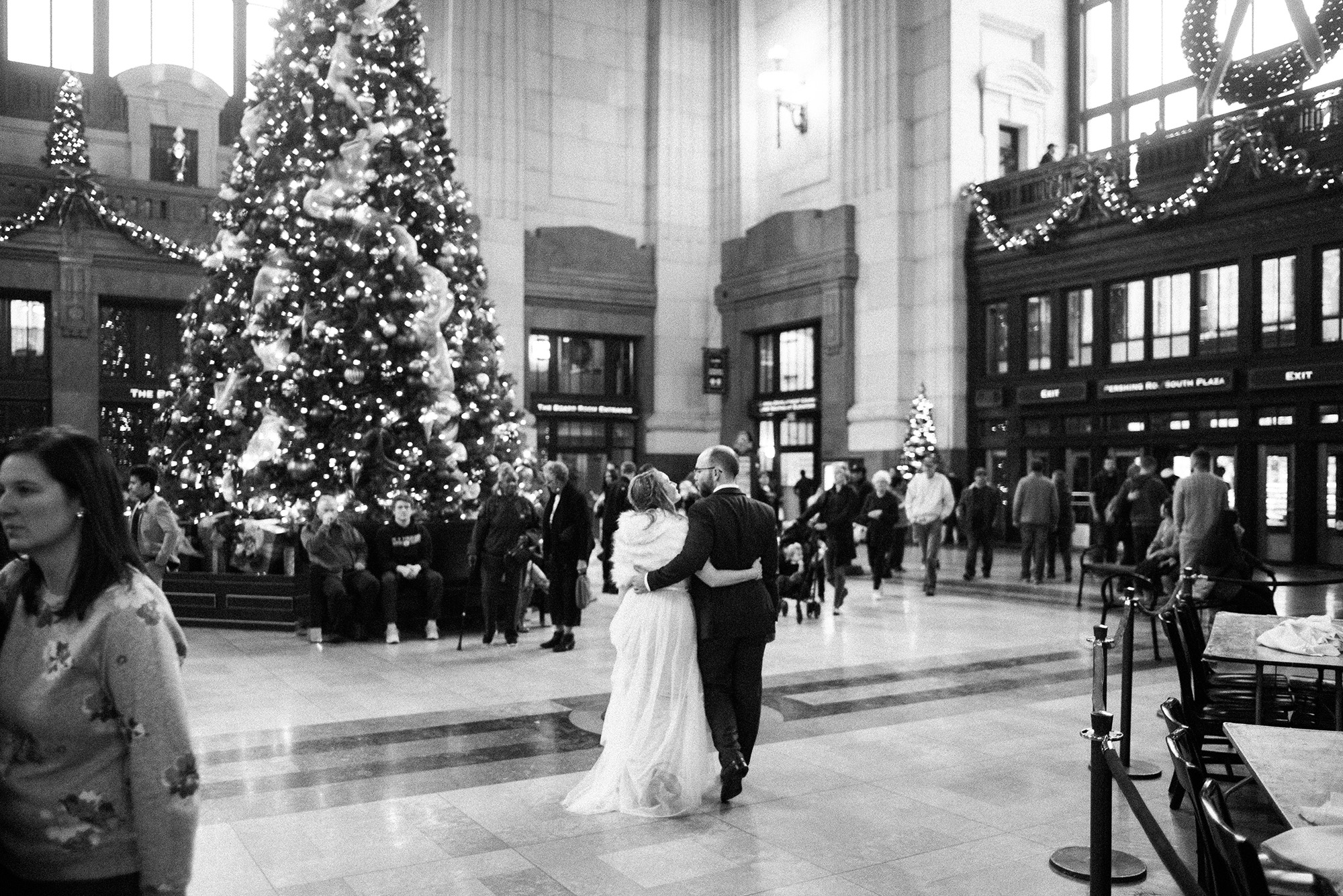 Kansas City Wedding Photographer Union Station