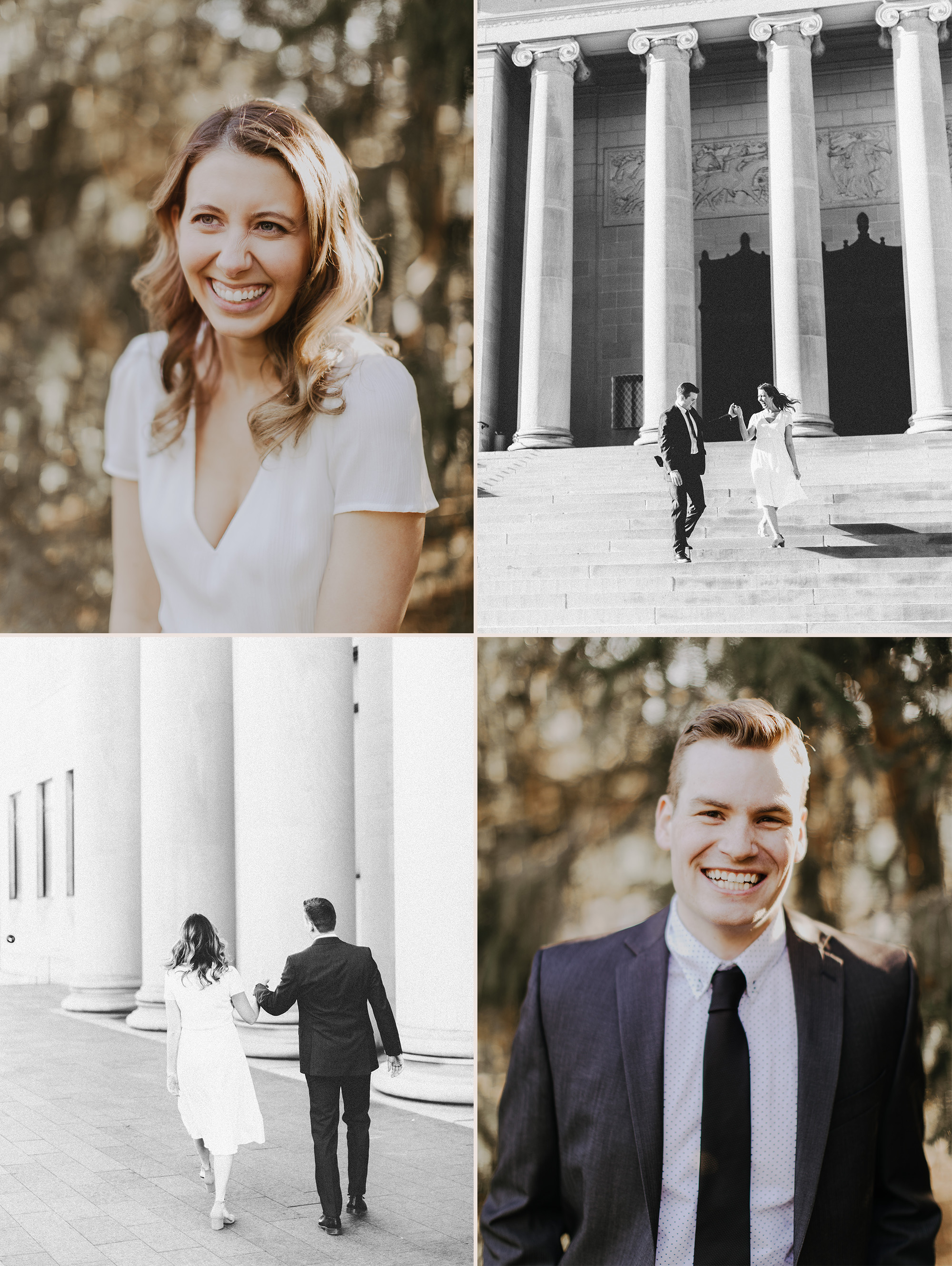 Wes Goforth Jaclyn Sheets Rusty Wright Kansas City Engagement Portrait and Wedding Photographer
