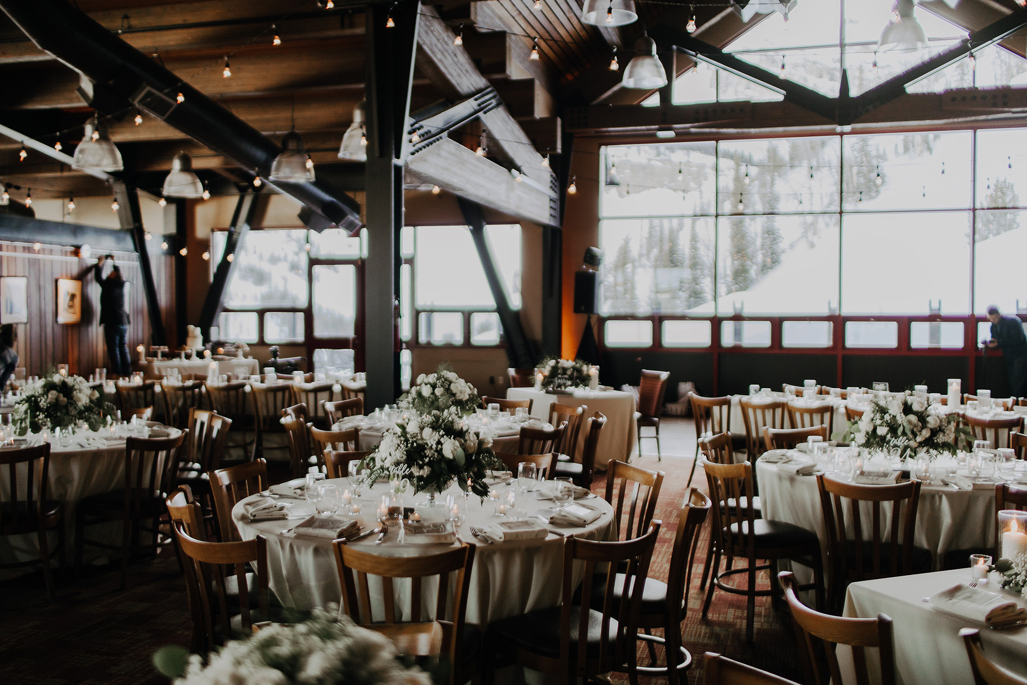 Trey Norris Andrea Geubelle Jackson Hole Wyoming Wedding PhotographerCaldera House Teton Village Ski Resort Wyoming Destination Traveling Wedding Photography