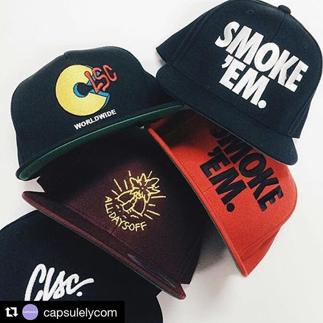 @capsulelycom product cap line 🚬. Grab one!