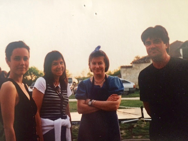 Unknow Arist?, Patty Smyth, Lucy our amazing cook and kevin Savigar. Castle #3