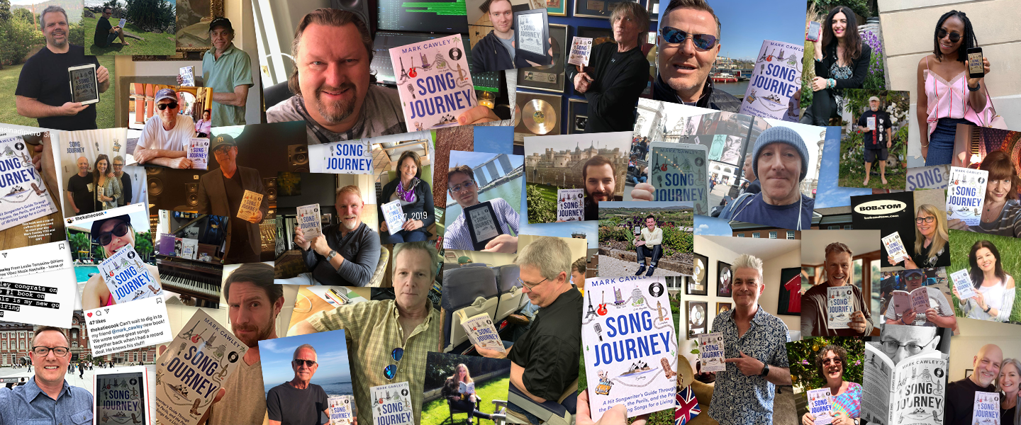 "My book ""Song Journey"" around the world"