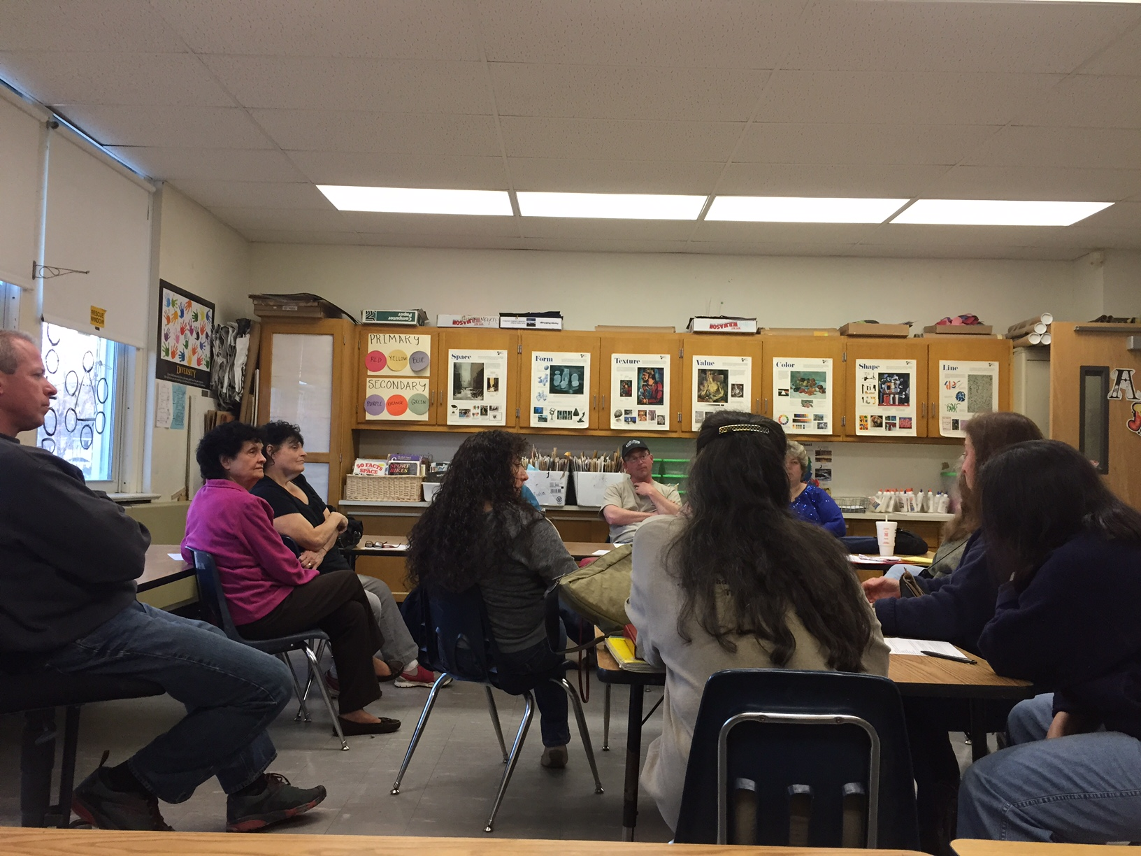 Friends of Historic Kerhonkson meeting at the Elementary School on April 15, 2015