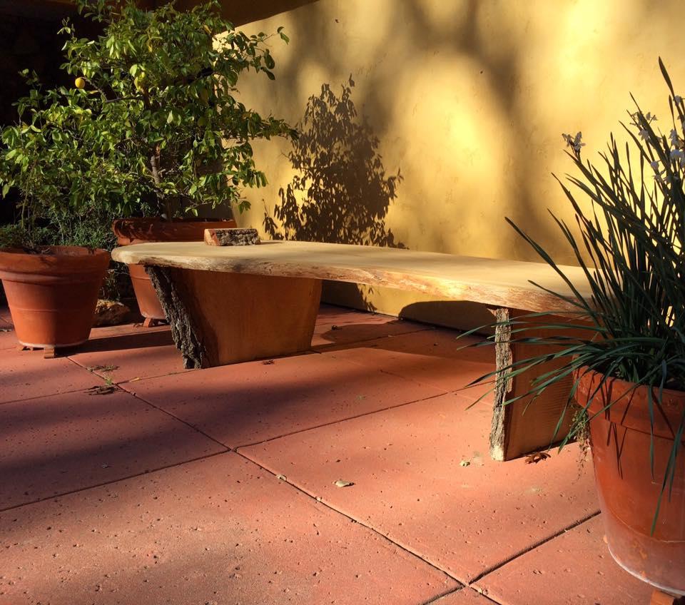 Slab Bench/Daybed
