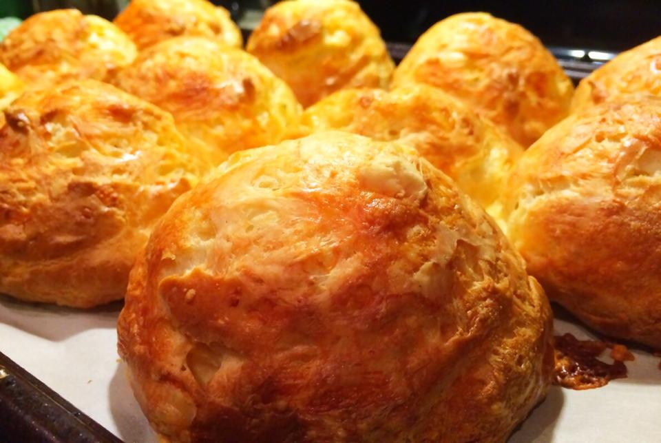 Cheesy, pillowy, light, unstoppable, GOUGÈRES!