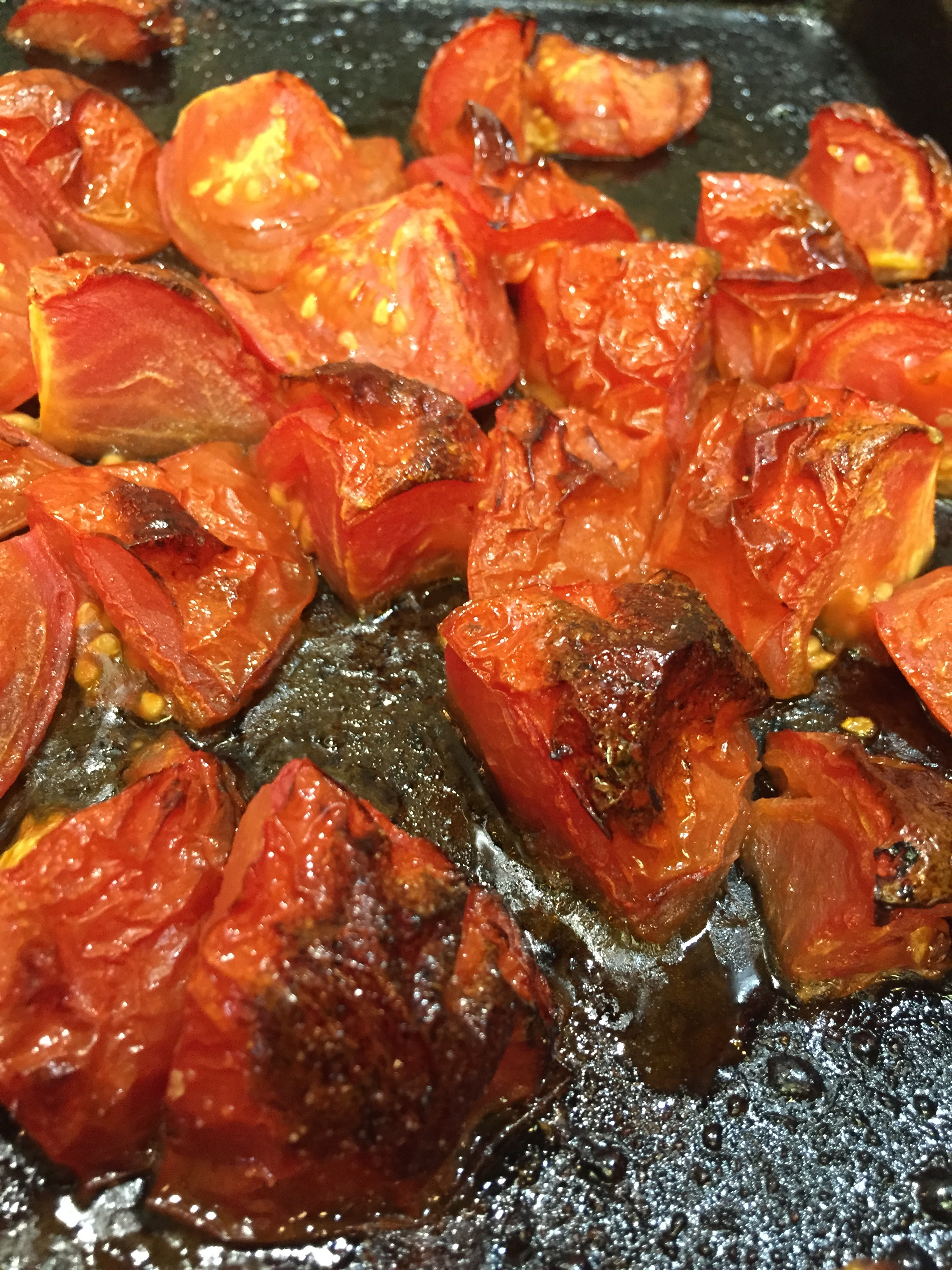 Roasted Tomatoes: Really brings out sweetness and deeper flavor.