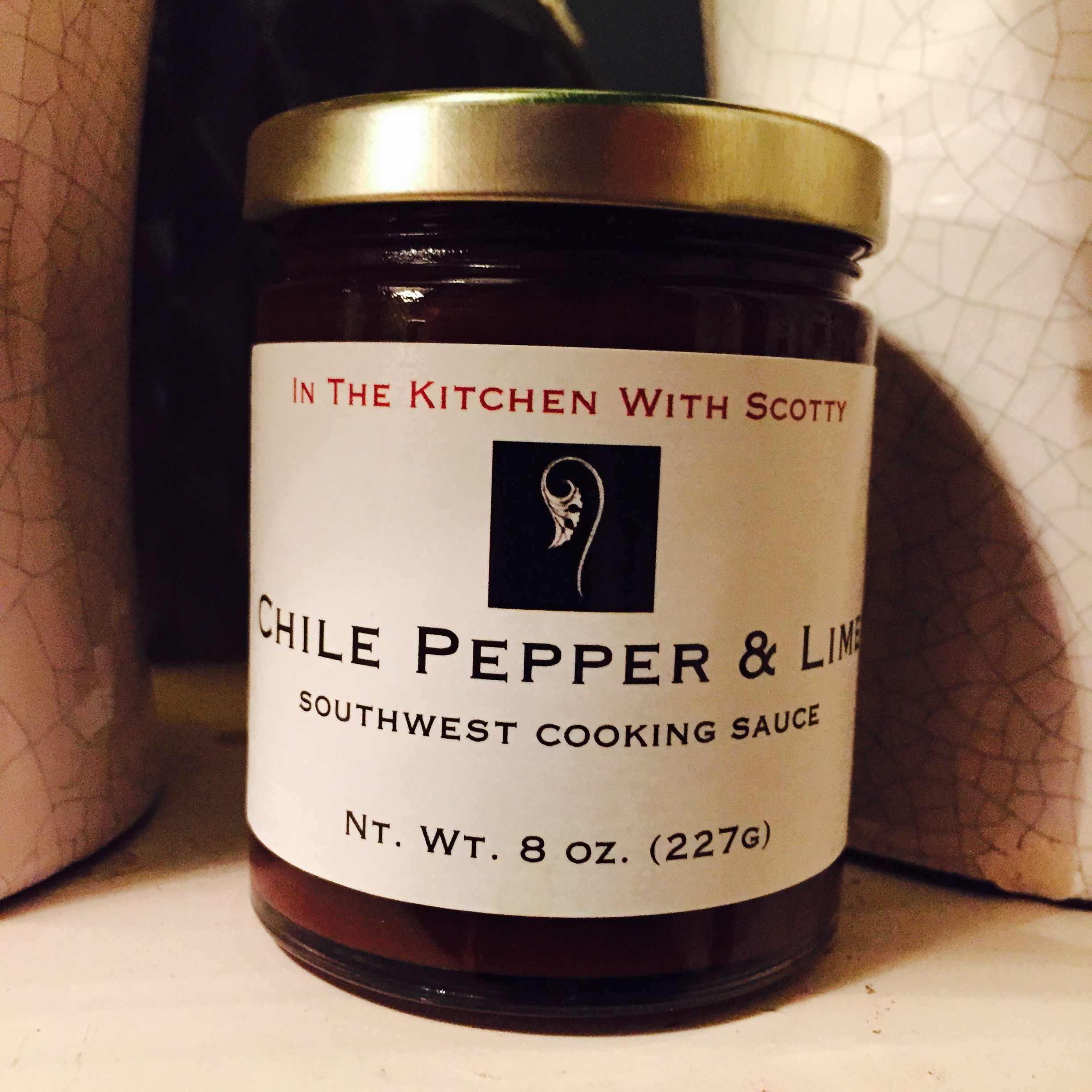"""In The Kitchen With Scotty """"Chile Pepper & Lime"""" Sauce"""