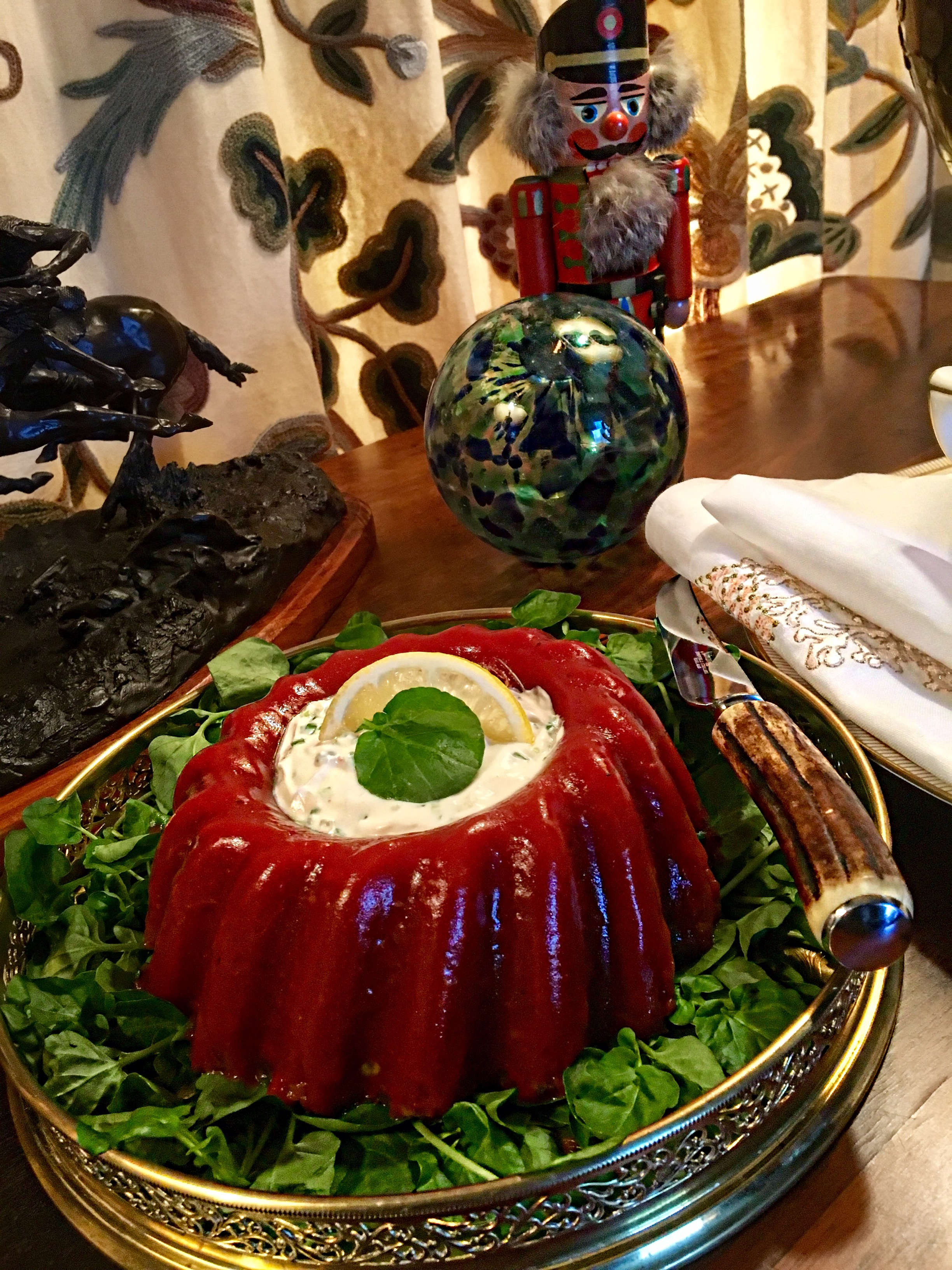TOMATO ASPIC — IN THE KITCHEN WITH SCOTTY