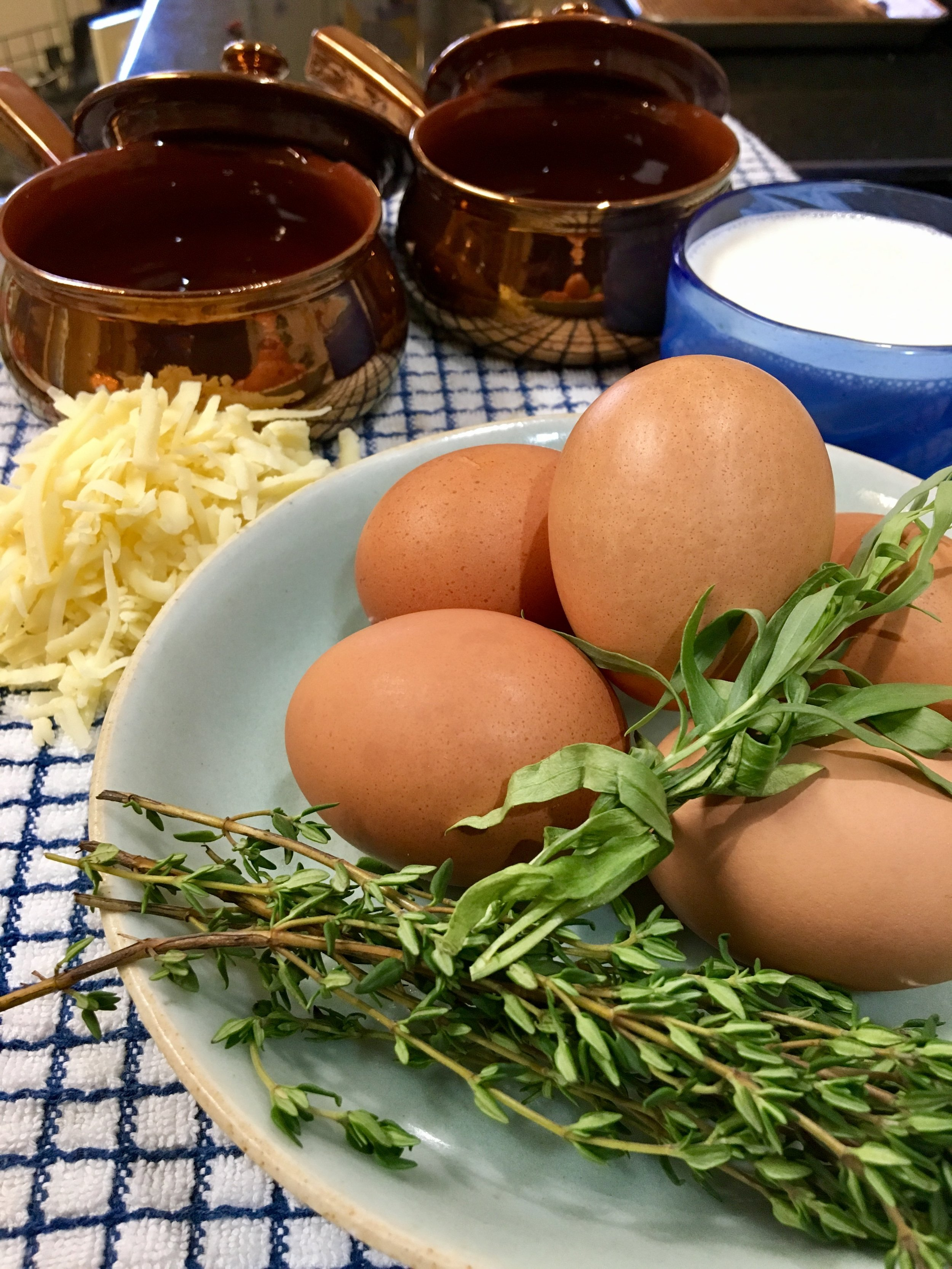 Mise en Place : Gathering everything together,and prepped, to make your dish