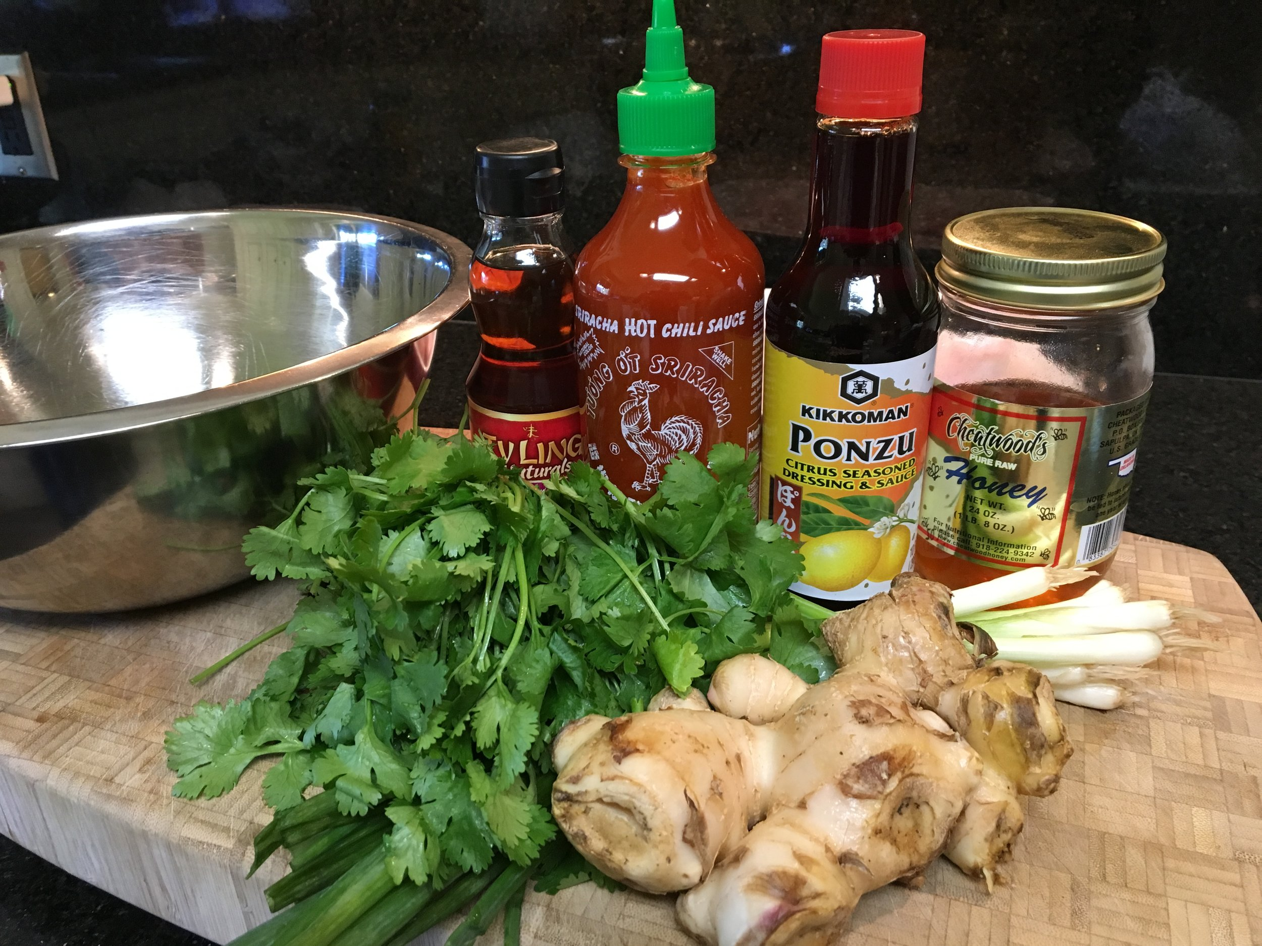 For The Marinade