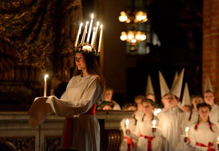 Celebrating Ste Lucia Day