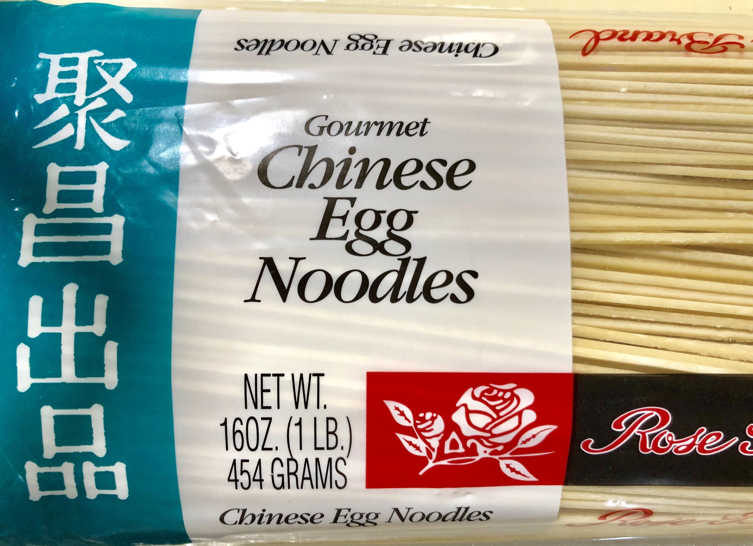Make fresh noodles, or pick up some dry… it's your call!