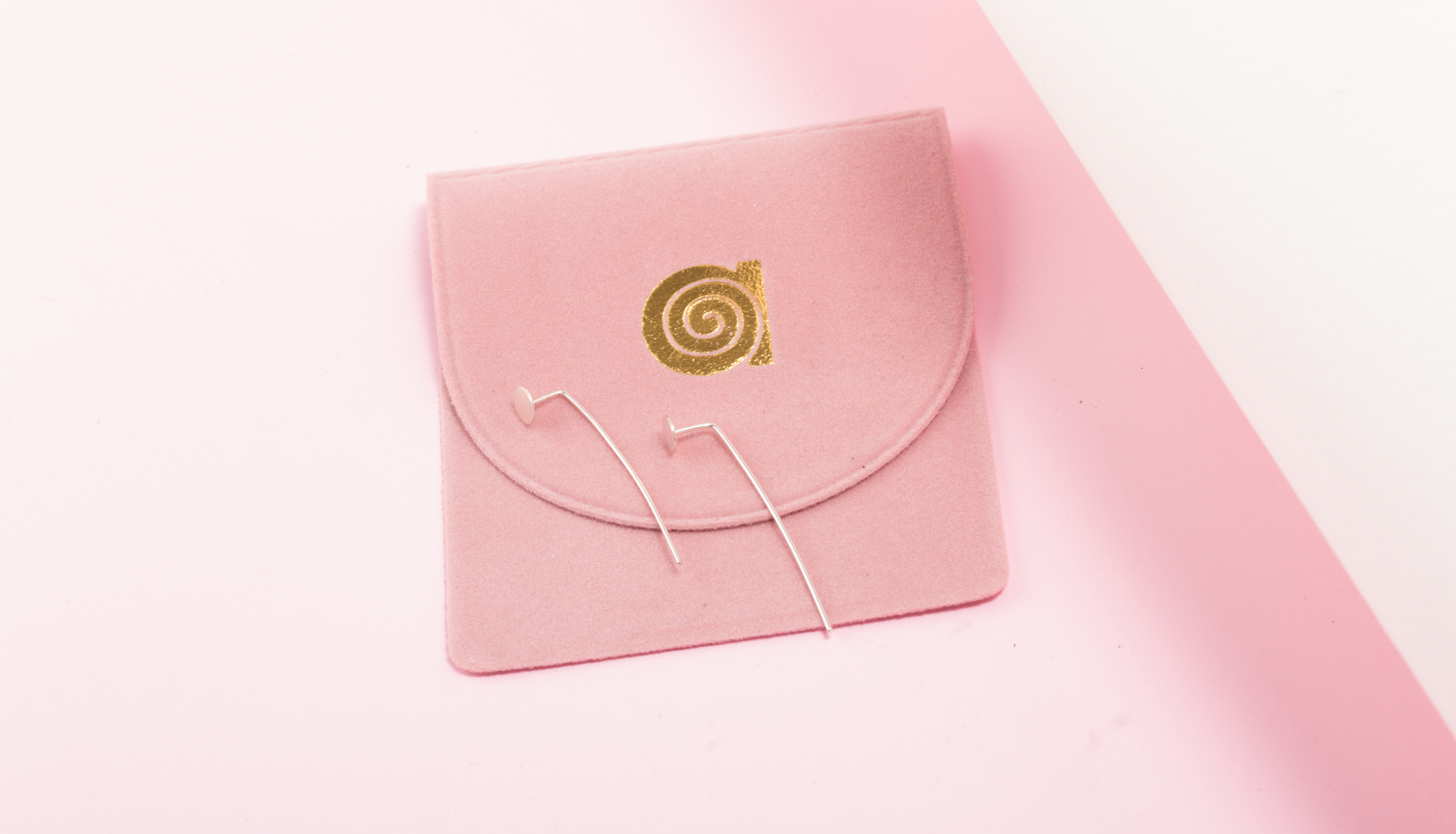 Comet Tails on pink wallet