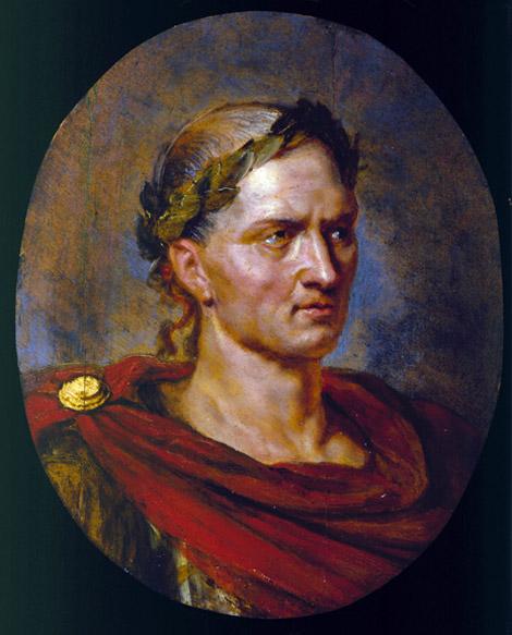 Caesar was Blonde