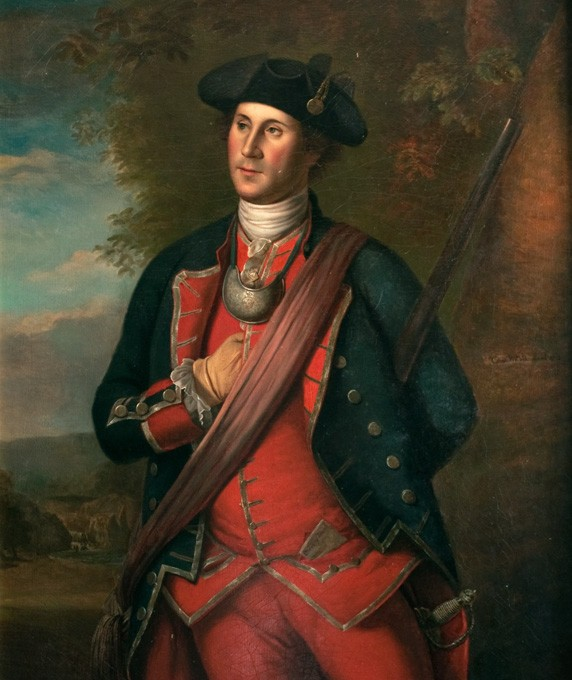 21-year old George Washington