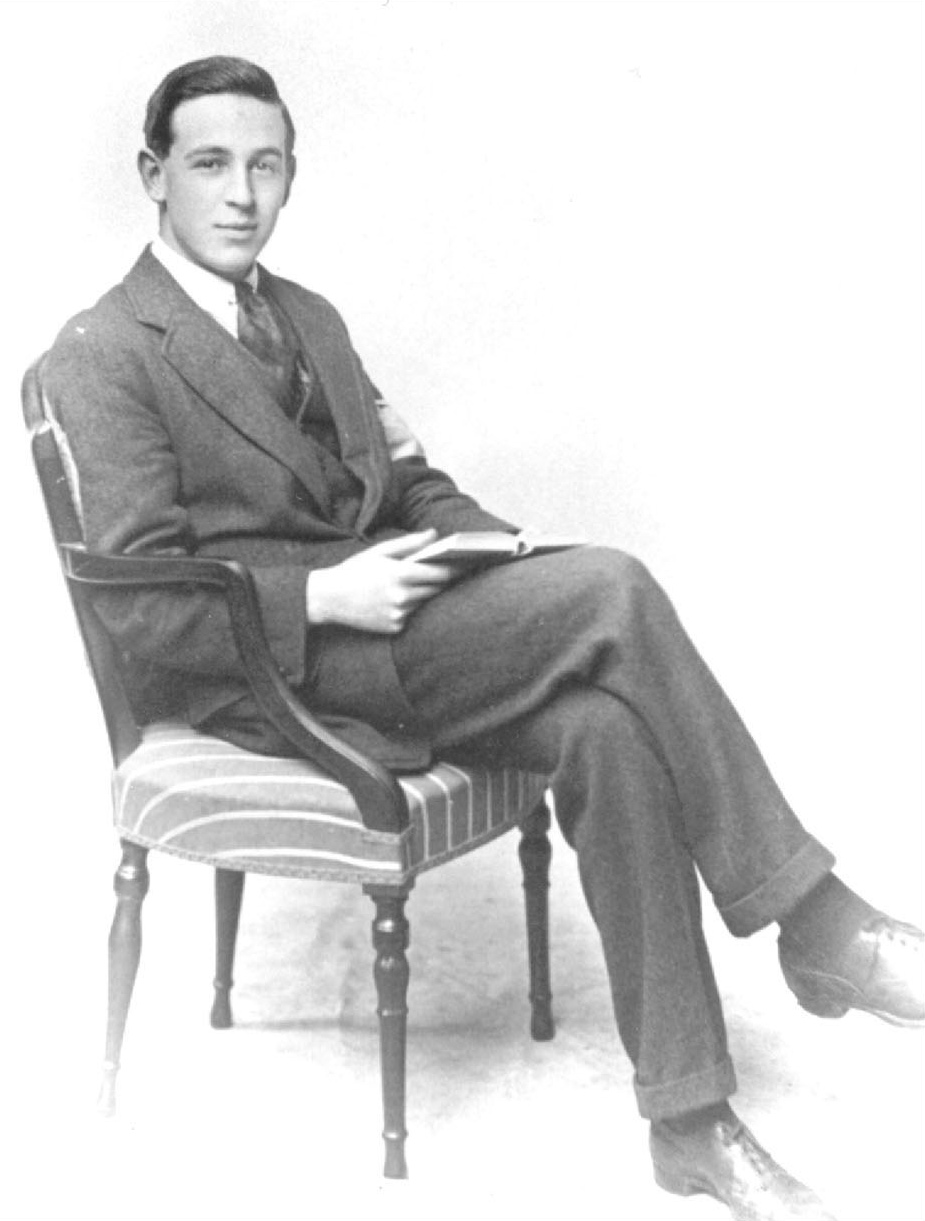 A young C. S. Lewis
