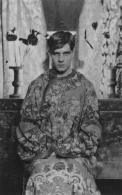 Steven Runciman at Cambridge in 1925, photographed by Cecil Beaton
