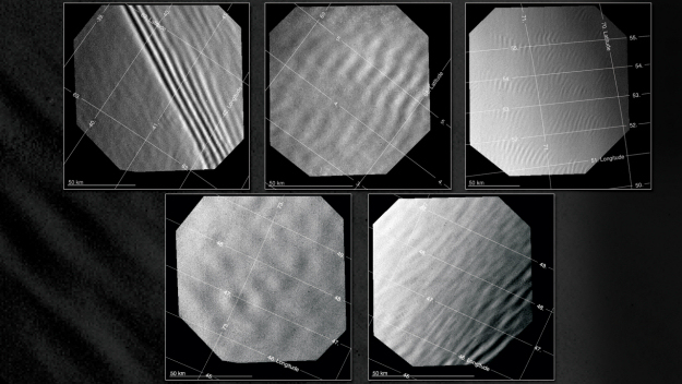Some grad student probably found these pictures of the Venerian atmosphere really exciting