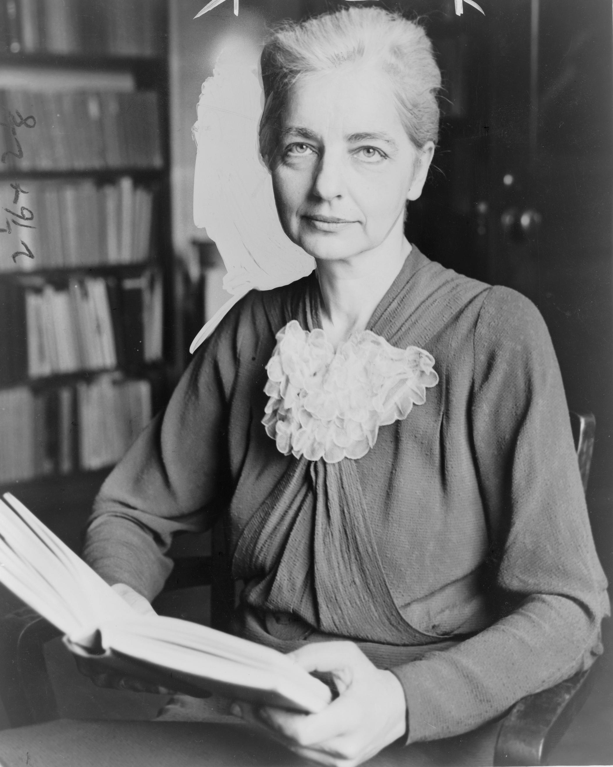 Ruth Benedict  By World Telegram staff photographer - Library of Congress. New York World-Telegram & Sun Collection. http://hdl.loc.gov/loc.pnp/cph.3c14649, Public Domain, https://commons.wikimedia.org/w/index.php?curid=1276865