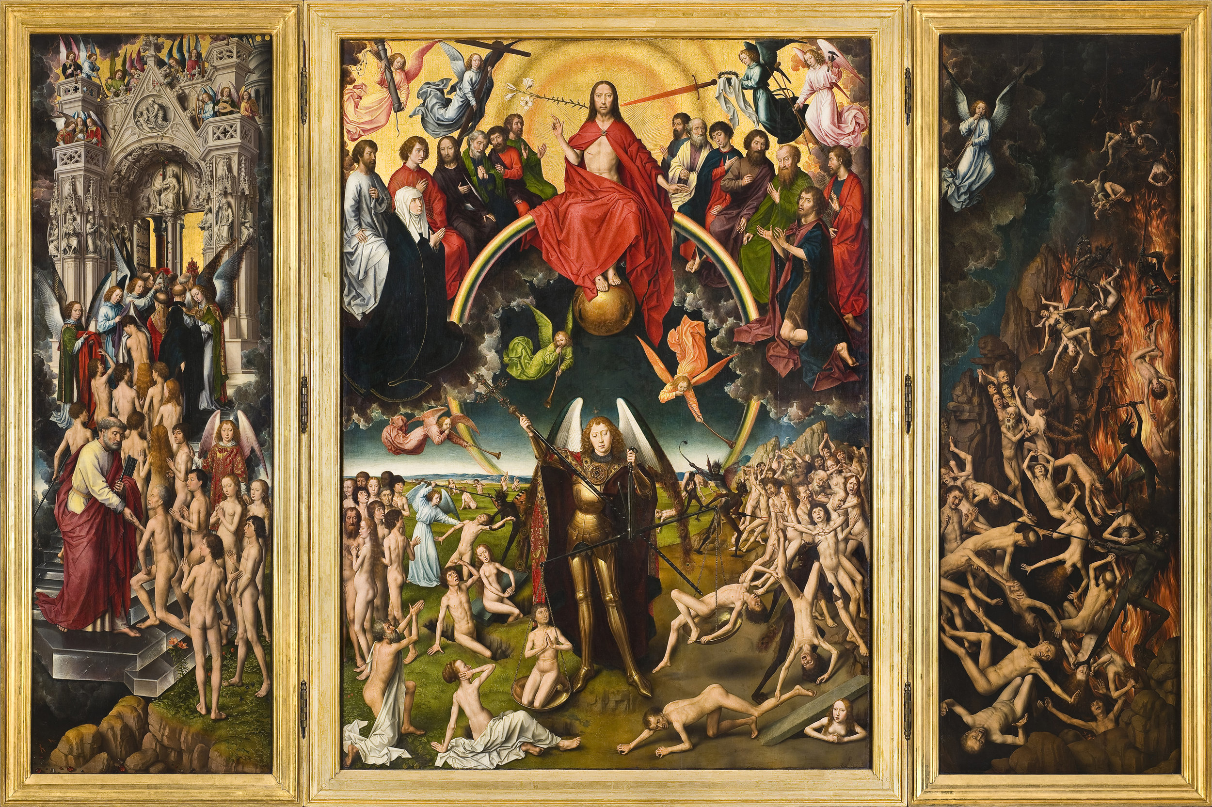 The Four Last Things: Death, Judgment, Heaven, and Hell  By Hans Memling - http://mng.gda.pl/zbiory/sztuka-dawna/hans-memling/, Public Domain, https://commons.wikimedia.org/w/index.php?curid=1455943