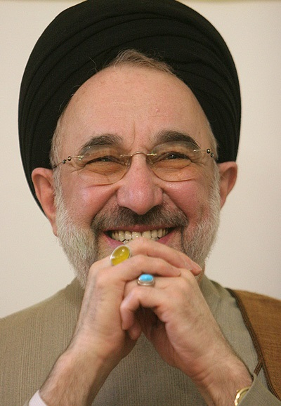 Mohammad Khatami  By Ali Rafiei - http://media.farsnews.com/Media/8603/ImageReports/8603310160/15_8603310160_L600.jpg, CC BY 4.0, https://commons.wikimedia.org/w/index.php?curid=66835805