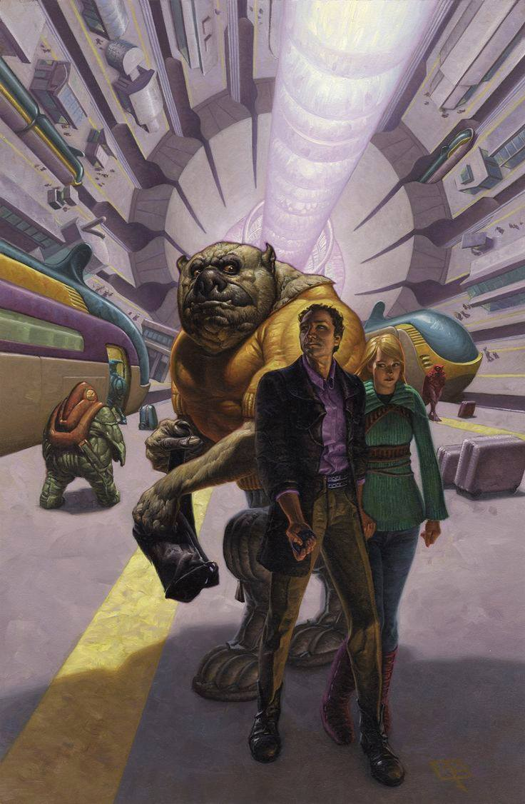 Mark Zug's cover for Timothy Zahn's  The Third Lynx