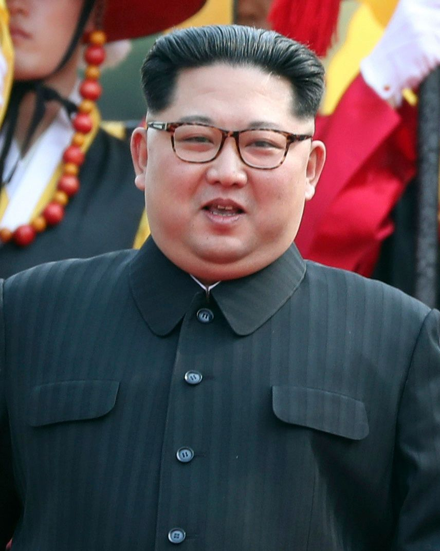 Kim Jong-um  By Cheongwadae / Blue House - http://www.president.go.kr/img_KR/2018/04/2018042706.jpg, KOGL Type 1, https://commons.wikimedia.org/w/index.php?curid=69950427