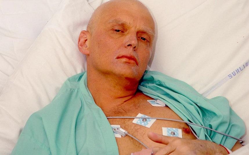 Alexander Litvinenko dying of polonium poisoning