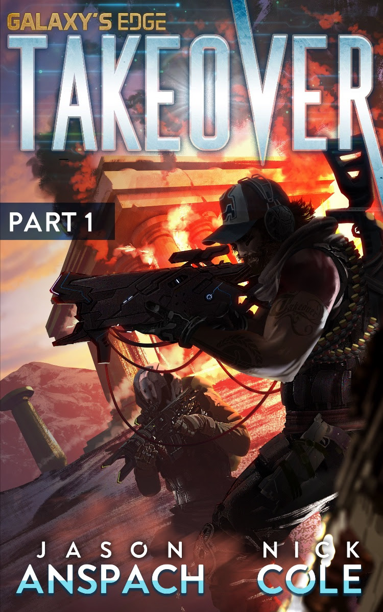 Cover art for Takeover: Part 1 by  Tommaso Renieri