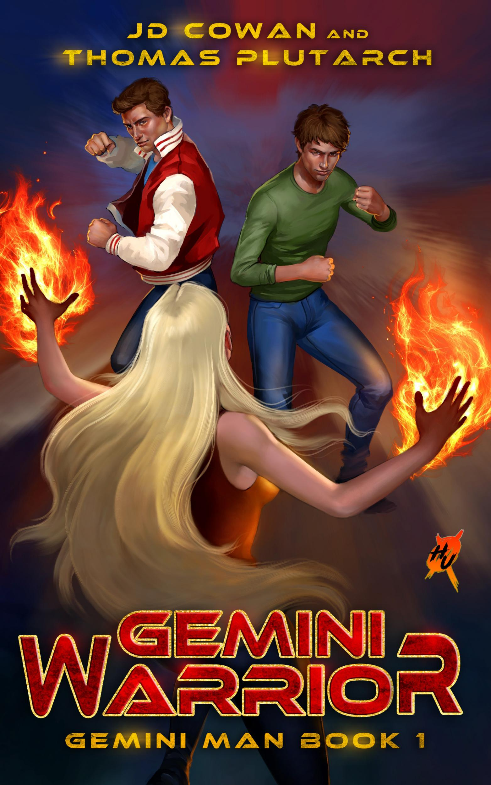 Gemini Warrior: Gemini Man book 1 by J. D. Cowan Published by Silver Empire (2019)