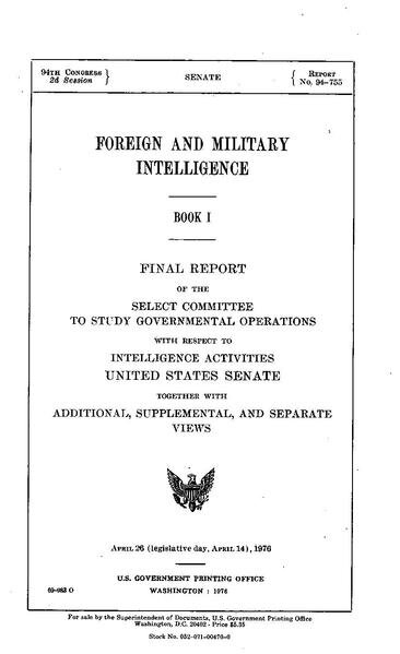 page1-366px-Church_Committee_report_(Book_I,_Foreign_and_Military_Intelligence).pdf.jpg