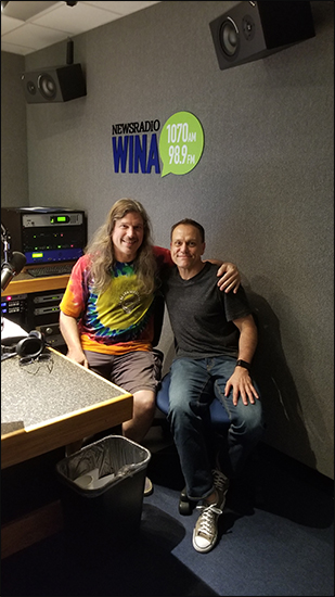 Radio Host Rob Schilling and Brad Huddleston