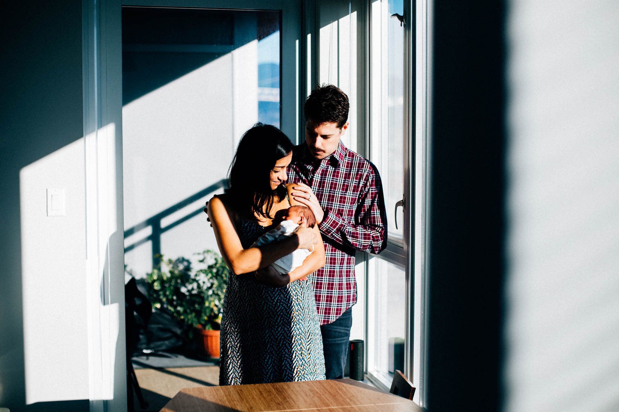 newborn apartment lifestyle photography vancouver