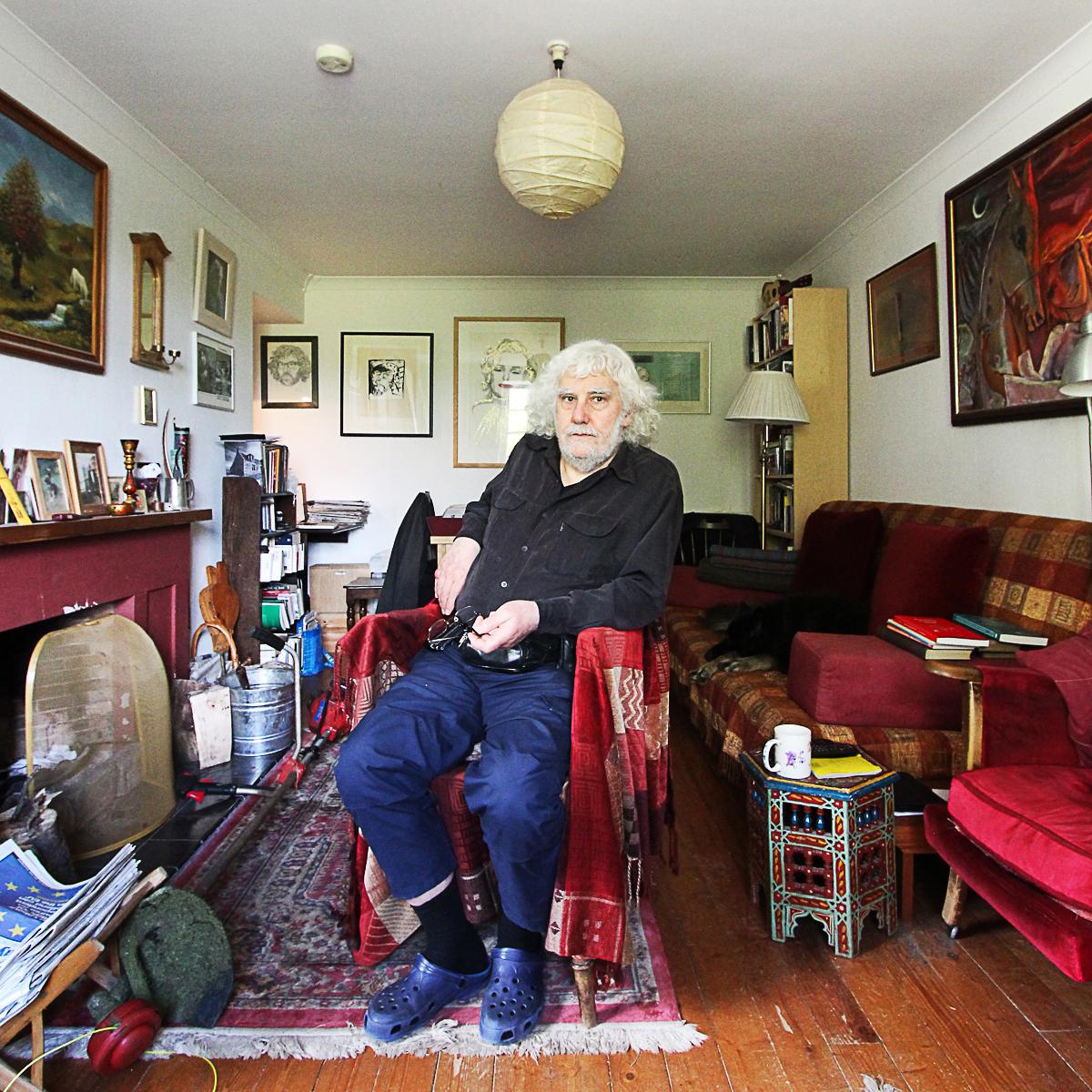 Aonghas MacNeacail, poet, songwriter