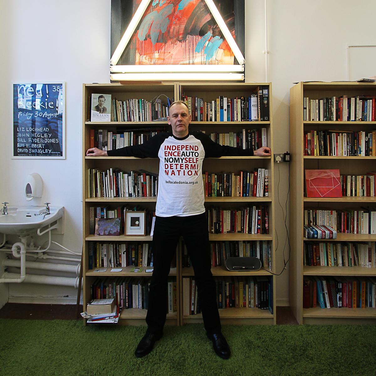 Kevin Williamson, writer, poet, visual artist