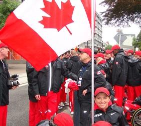 Opening Ceremony Flag Bearer