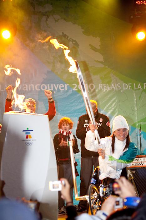 Nanaimo Torch Lighting