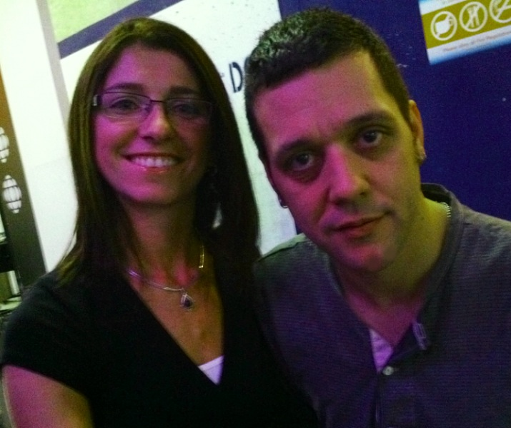 Michelle and George Stroumboulopoulos